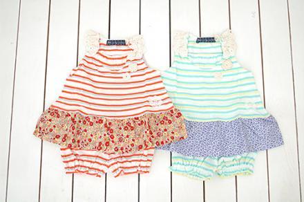 【メール便可】Little s.t. by s.t.closet s.t.クローゼット ミルキースーツ