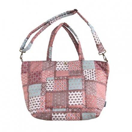 SOULEIADO ソレイアード マザーズバッグ(おむつ替えマット・ショルダーベルト付き) ピンク