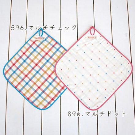 【メール便可】stample スタンプル 6重ガーゼループ付きタオル