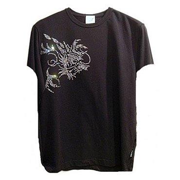 クリスタル Tシャツ/ドラゴン