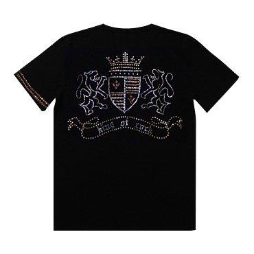 クリスタルTシャツ/エンブレム