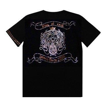 クリスタル Tシャツ/ライオン