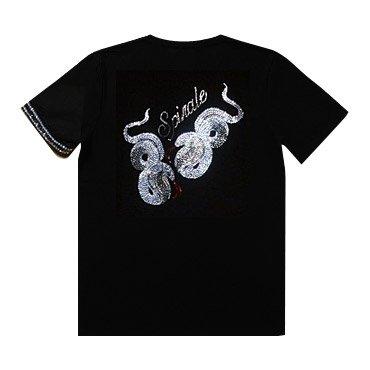 クリスタル Tシャツ/コブラ