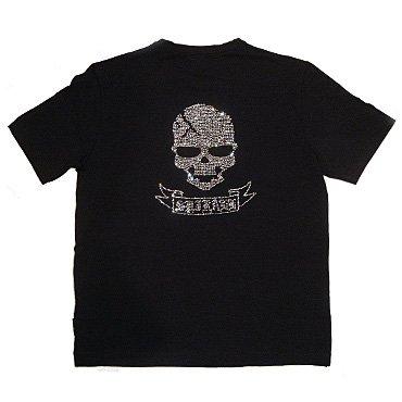 クリスタル Tシャツ/スカル