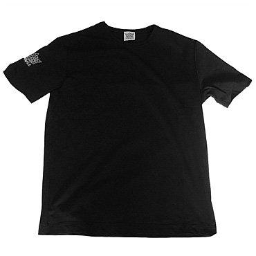スワロフスキーTシャツ/王冠(袖)