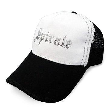 クリスタル ダメージキャップ/ロゴ・ホワイト