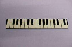 長角プレート 白 鍵盤