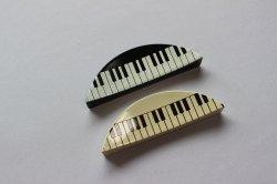 箸置き(大)セット 鍵盤 黒・白