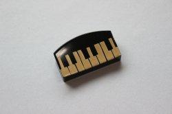 箸置き(小) 鍵盤 黒