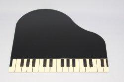 WEBSHOP限定 ピアノ鍵盤プレートセット 黒