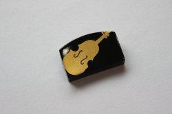 箸置き(小) バイオリン 黒