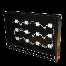 大 アイアン壁掛けパネルBOX (LED)