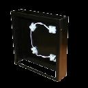 中 アイアン壁掛けパネルBOX (LED)