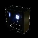 小 アイアン壁掛けパネルBOX (LED)