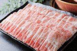 鹿児島県産 南州豚 上豚ロースしゃぶしゃぶ用スライス肉