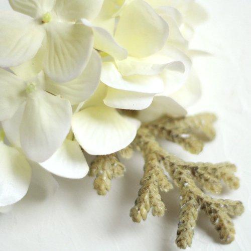 アーティフィシャルフラワー(造花)の胡蝶蘭の髪飾り_airaka