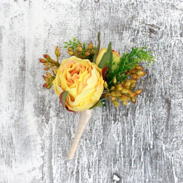 アーティフィシャルフラワー(造花)のウェディングブーケairaka
