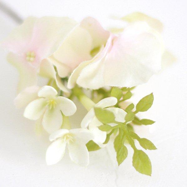 アーティフィシャルフラワー(造花)のピュアローズの髪飾り(ピンク)画像_airaka