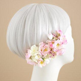 アーティフィシャルフラワー(造花)の桜の髪飾り画像_airaka