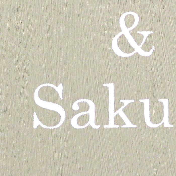 アーティフィシャルフラワー(造花)のウェルカムボード/リース付き木製ボード/ホワイトローズ×ヘンプベージュ画像_airaka