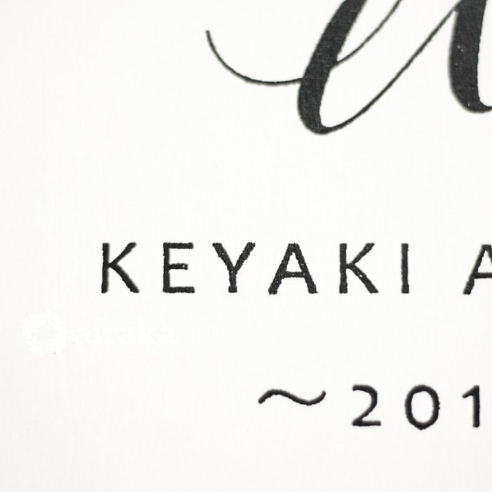 アーティフィシャルフラワー(造花)のウェルカムボード/スワッグ付きスクエア木製ボード/ピンクローズ×ホワイト画像_airaka