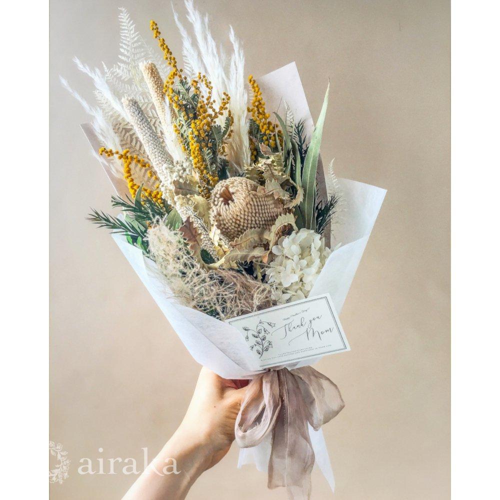 アーティフィシャルフラワー(造花)の【母の日ギフト】スワッグ/Type.04画像_airaka