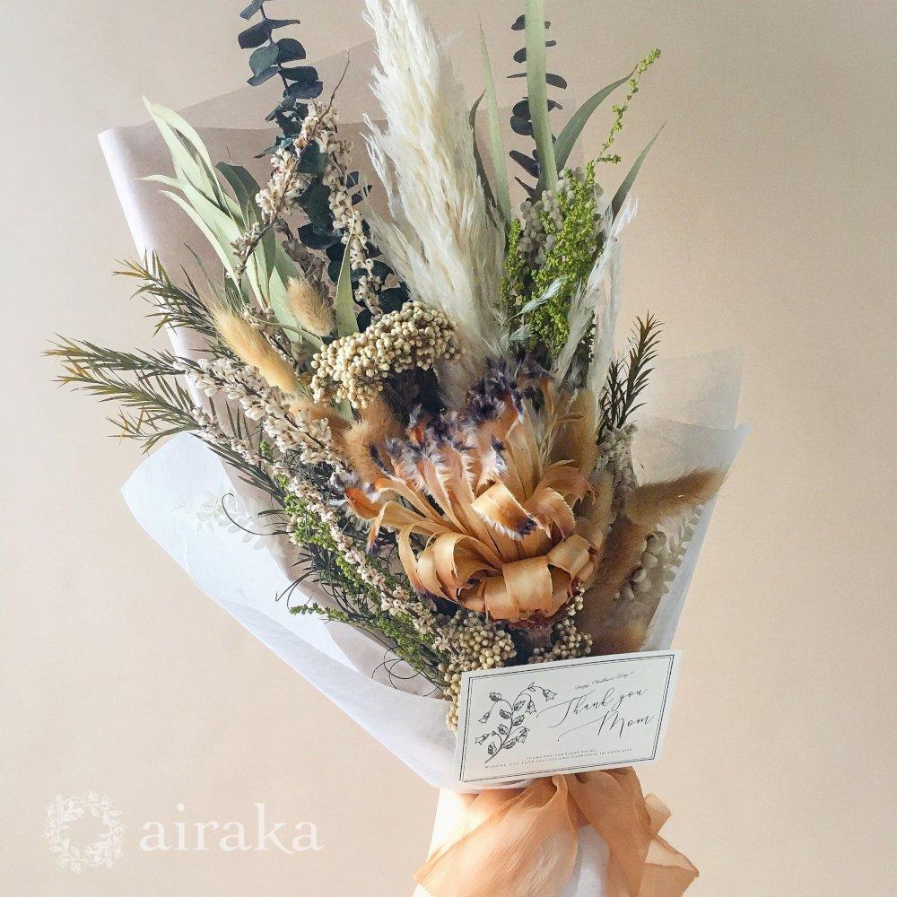 アーティフィシャルフラワー(造花)の【母の日ギフト】スワッグ/Type.05画像_airaka