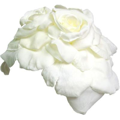 アーティフィシャルフラワー(造花)のホワイトローズのメリアプラトー画像_airaka