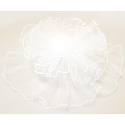 アーティフィシャルフラワー(造花)のフラワーチュール(白)画像_airaka