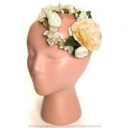 アーティフィシャルフラワー(造花)のクラシカルラナンキュラスの花冠画像_airaka