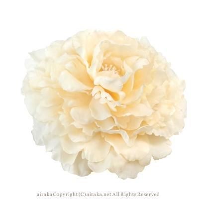 アーティフィシャルフラワー(造花)のテンダーピオニーのプラトーハット画像_airaka