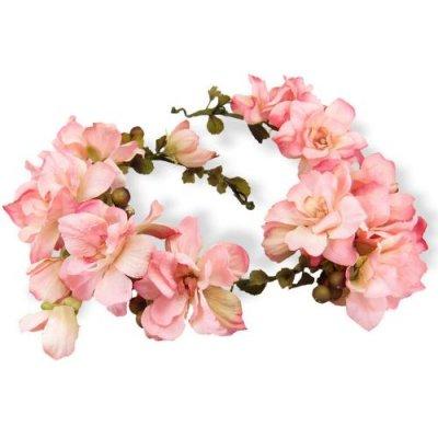 アーティフィシャルフラワー(造花)のデルフィニウムの花冠(ピンク)画像_airaka