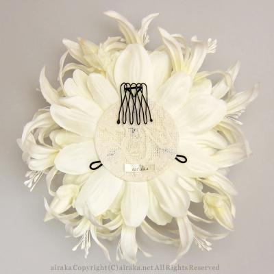 アーティフィシャルフラワー(造花)のブランダリアのヘッドドレス画像_airaka