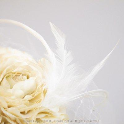 アーティフィシャルフラワー(造花)のラナンキュラスのチュールプラトー画像_airaka