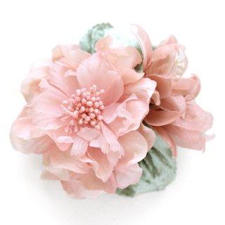 アーティフィシャルフラワー(造花)の髪飾り/couture flower フレンチキス(ピンク)画像_airaka