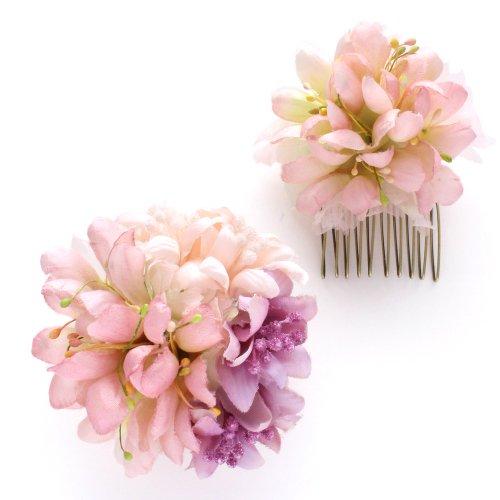 アーティフィシャルフラワー(造花)のcouture flower アリエ(ピンク)画像_airaka