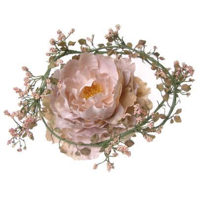 アーティフィシャルフラワー(造花)のピオニーとベリーのラリエット(SP)画像_airaka
