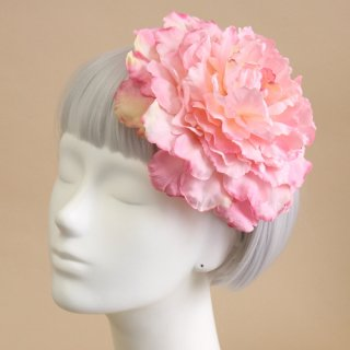 アーティフィシャルフラワー(造花)の芍薬のプラトーハット(ピンク)画像_airaka