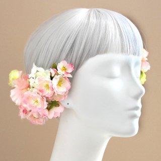 アーティフィシャルフラワー(造花)の【 季節限定 】桜の髪飾り画像_airaka