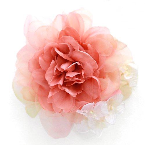 アーティフィシャルフラワー(造花)のcouture flower パルファンローズ(モーブ)画像_airaka