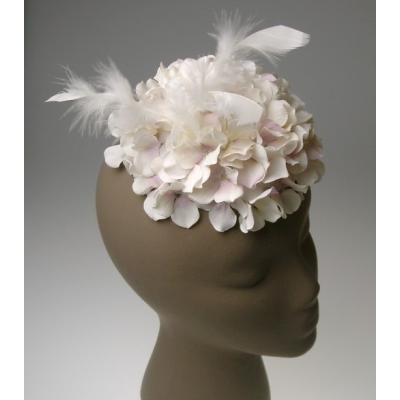 アーティフィシャルフラワー(造花)のお花のトーク帽(W)画像_airaka