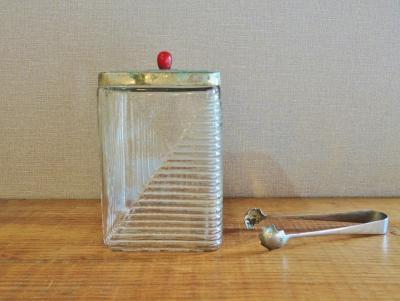 角形砂糖壺
