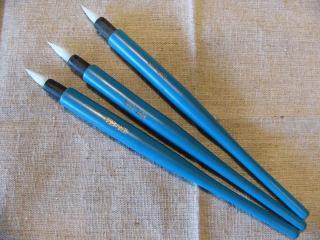 ガラスペン・青の柄