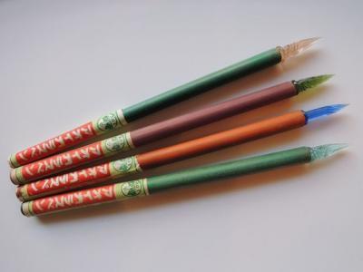 アオイガラスペン4色セット