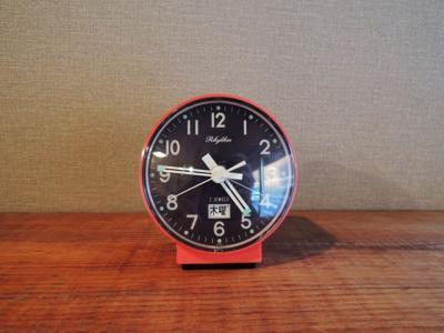 リズム時計・アラーム置時計