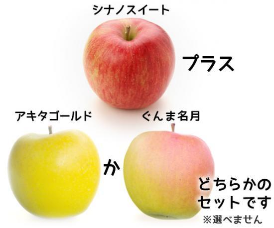 _早生りんご(3kg)