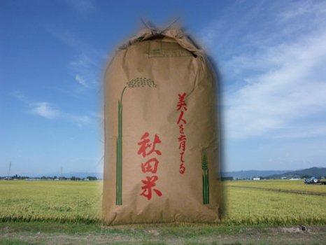 秋田県産あきたこまち玄米30kg【28年産】