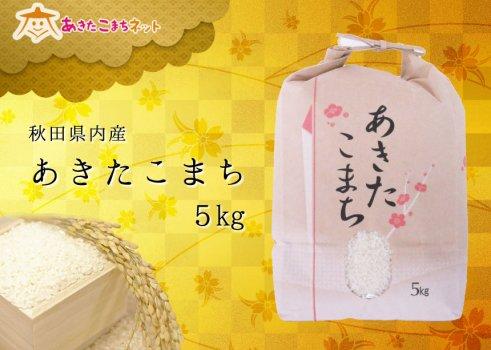 秋田県産あきたこまち5kg【28年産】