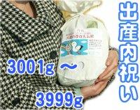【出産内祝い】赤ちゃん体重米(天使のほほえみ米)3001g〜3999g