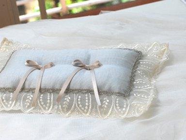 ring pillow</p>ブルーリーフ